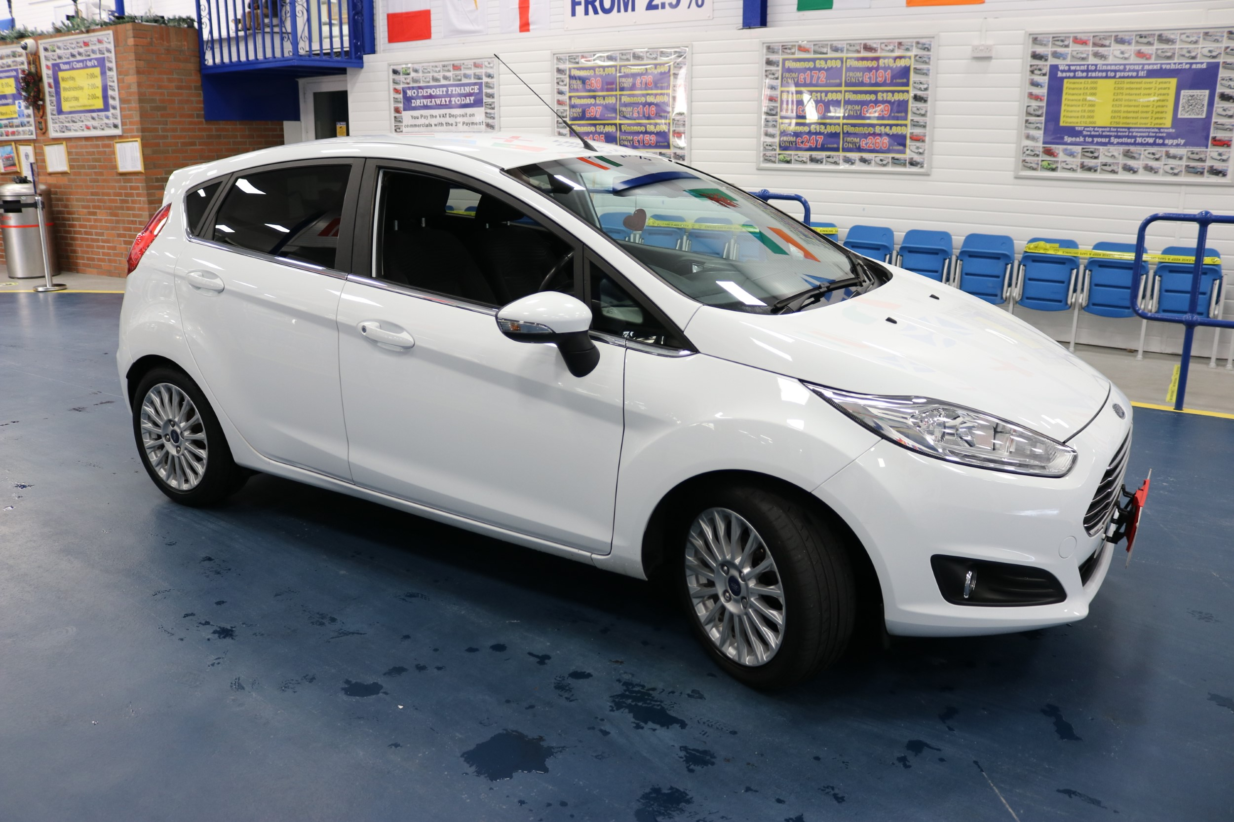 Click to view details about FORD FIESTA TITANIUM 1.5TDCI 5 DOOR HATCHBACK