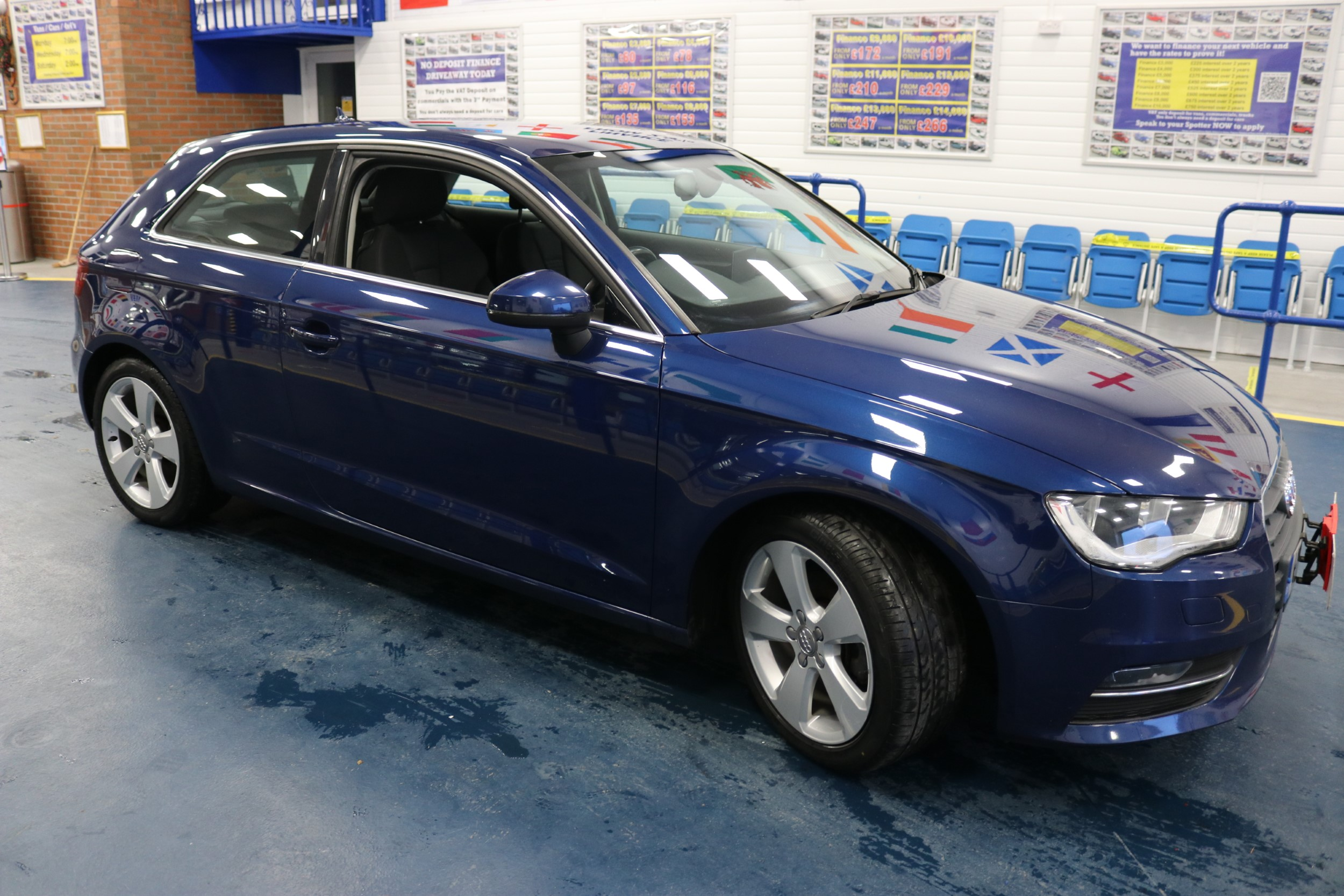 Click to view details about AUDI A3 SPORT 2.0TDI 140BHP 3 DOOR HATCHBACK