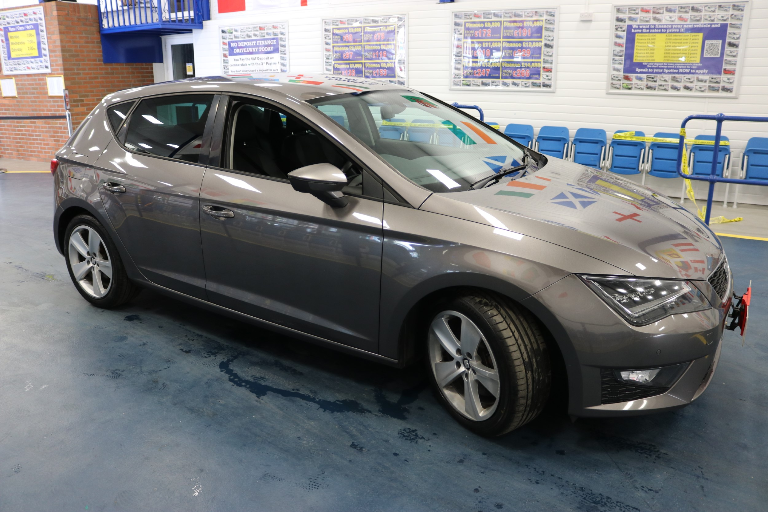 Click to view details about SEAT LEON FR TECHNOLOGY 2.0TDI 184BHP 5 DOOR HATCHBACK