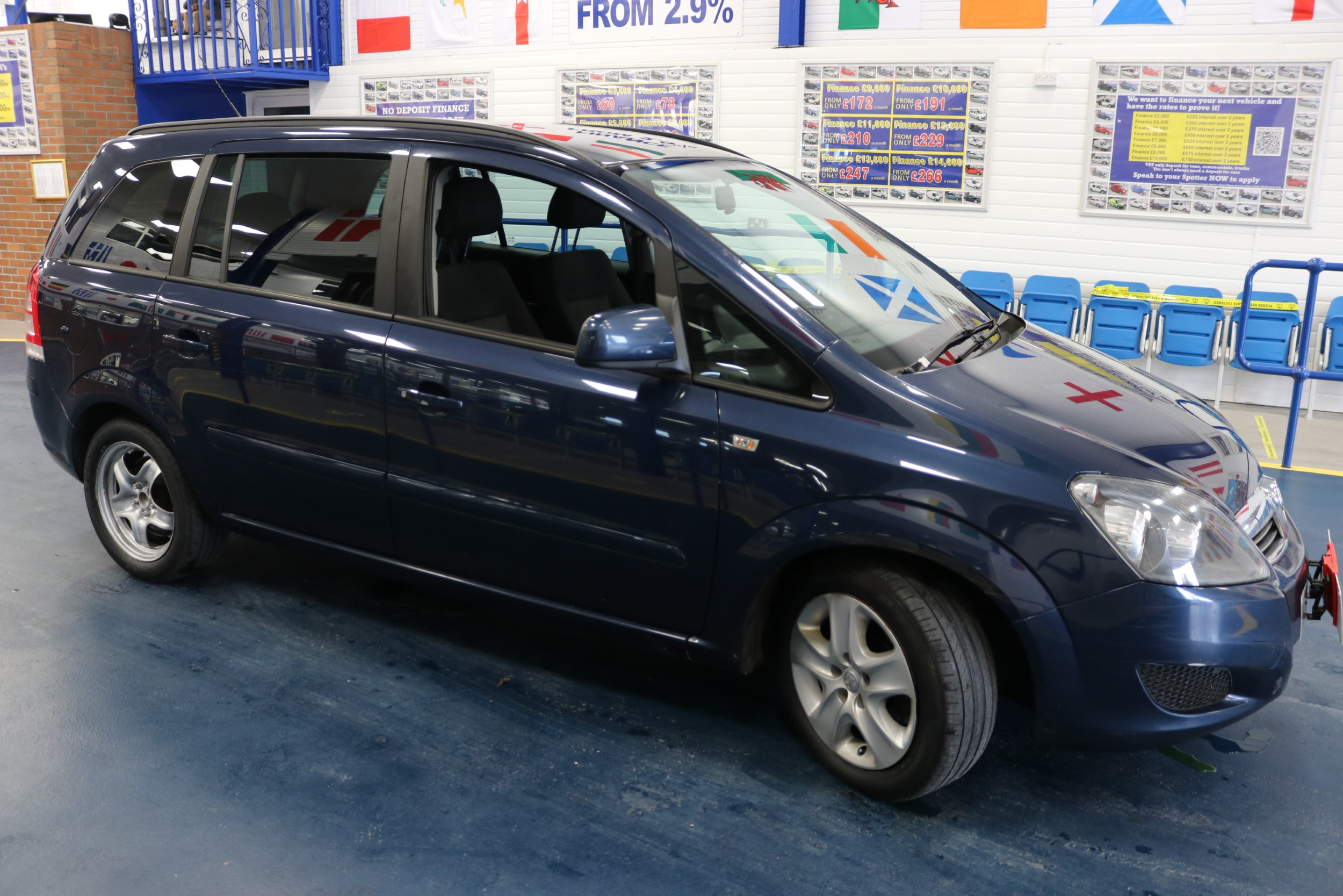 VAUXHALL ZAFIRA EXCLUSIVE NAV 1.7CDTI 125PS 7 SEAT MPV FOR SALE